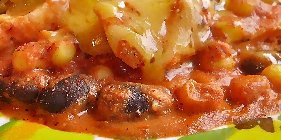 pantry raid chicken enchilada casserole recipe