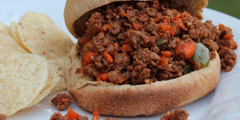healthier sloppy joes ii recipe