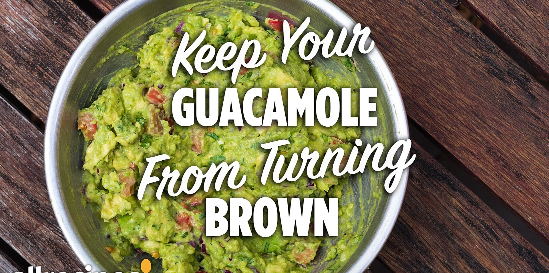 this easy trick keeps your guacamole from turning brown
