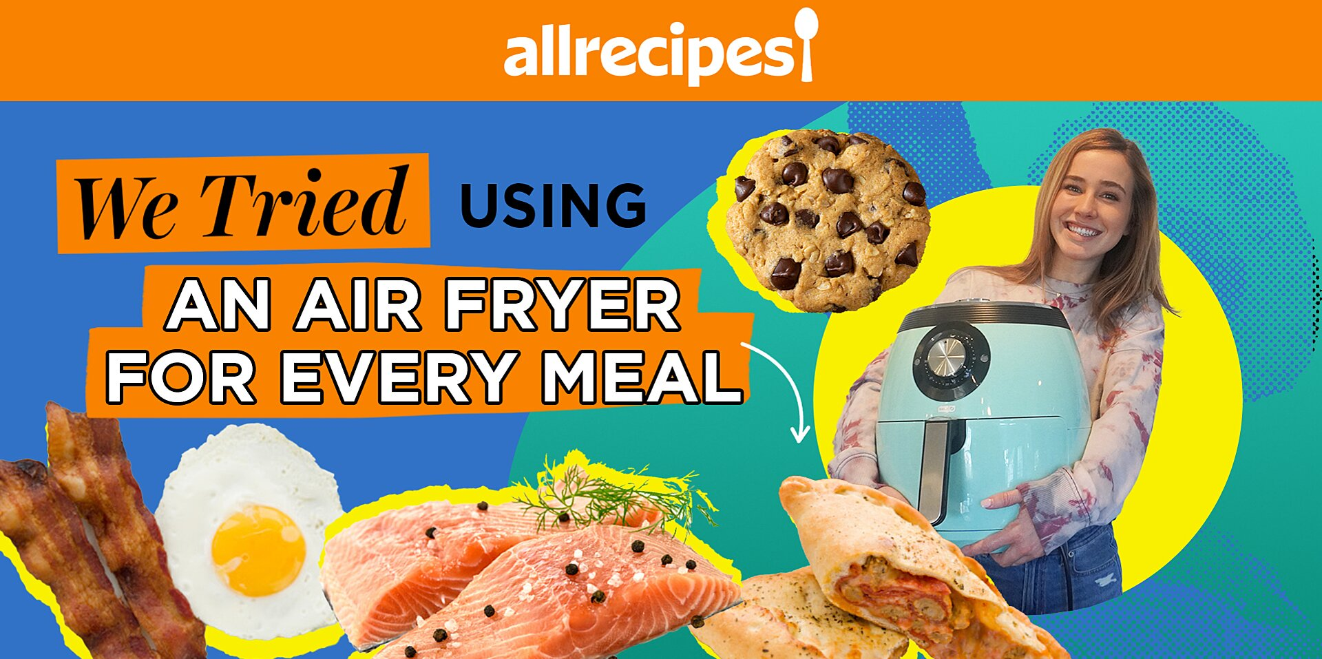 how to use your air fryer to make breakfast lunch dinner and