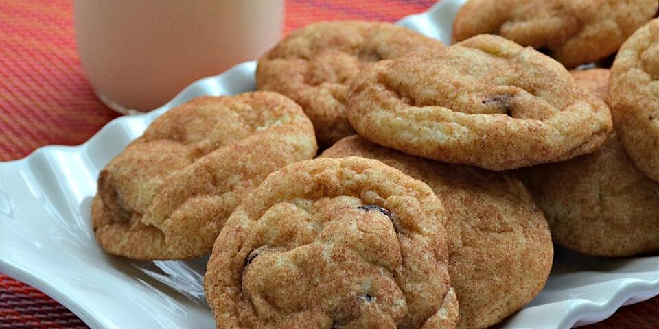 cranberry snickerdoodle cookies recipe