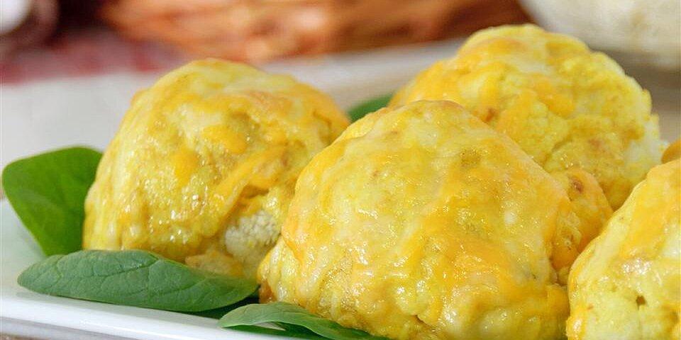 curry and cheese cauliflower recipe