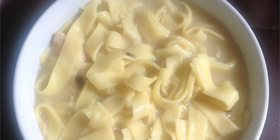 incredibly easy chicken and noodles recipe