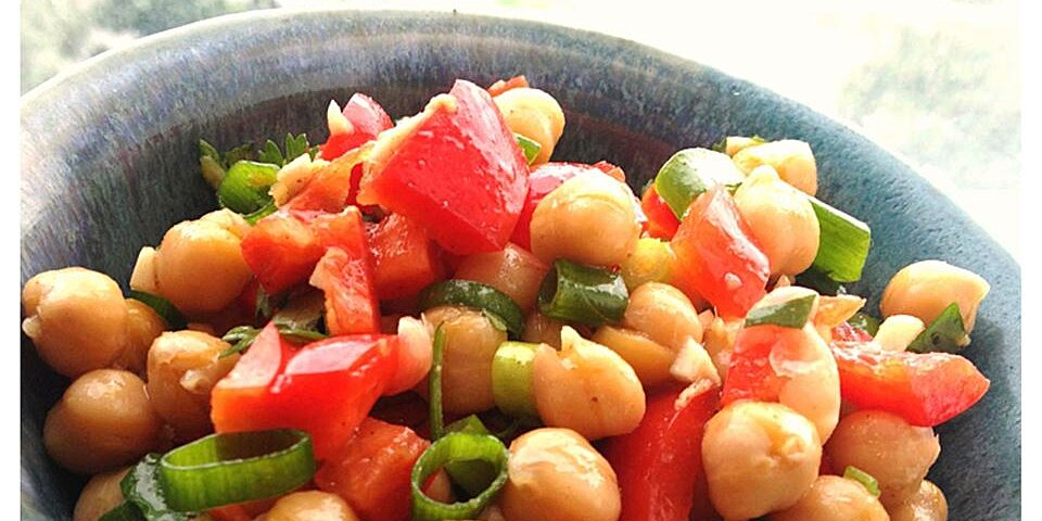 cumin and coriander chickpea salad recipe