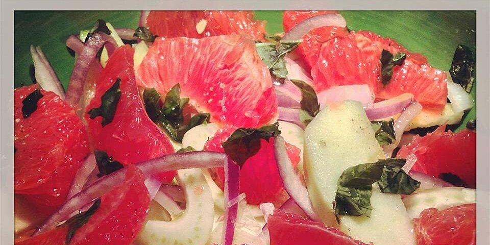 fennel grapefruit and apple salad recipe