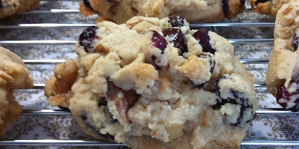 cranberry walnut cookies recipe