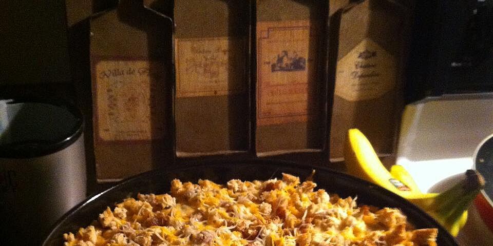 easy macaroni tuna casserole recipe