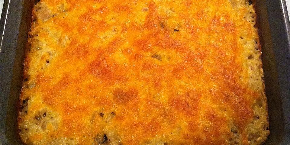 easy chicken rice casserole recipe