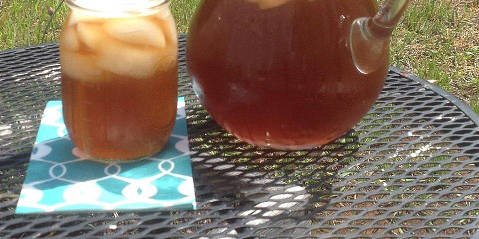 cool rhubarb iced tea recipe