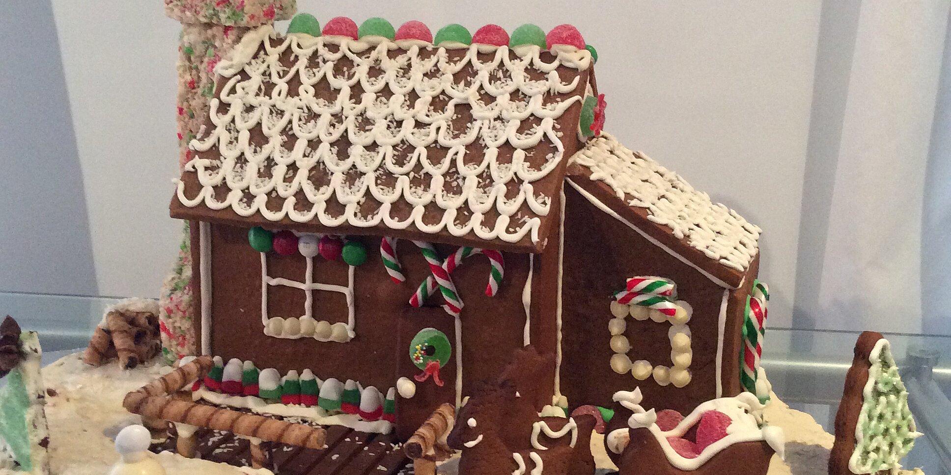 building gingerbread recipe