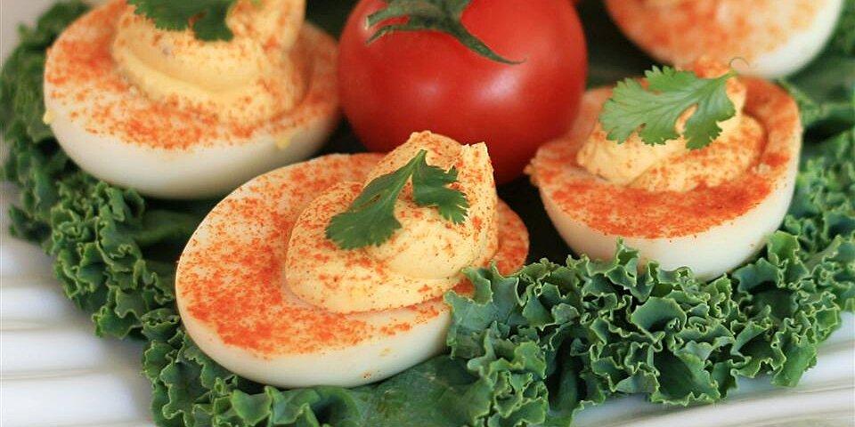 quick salmon deviled eggs recipe