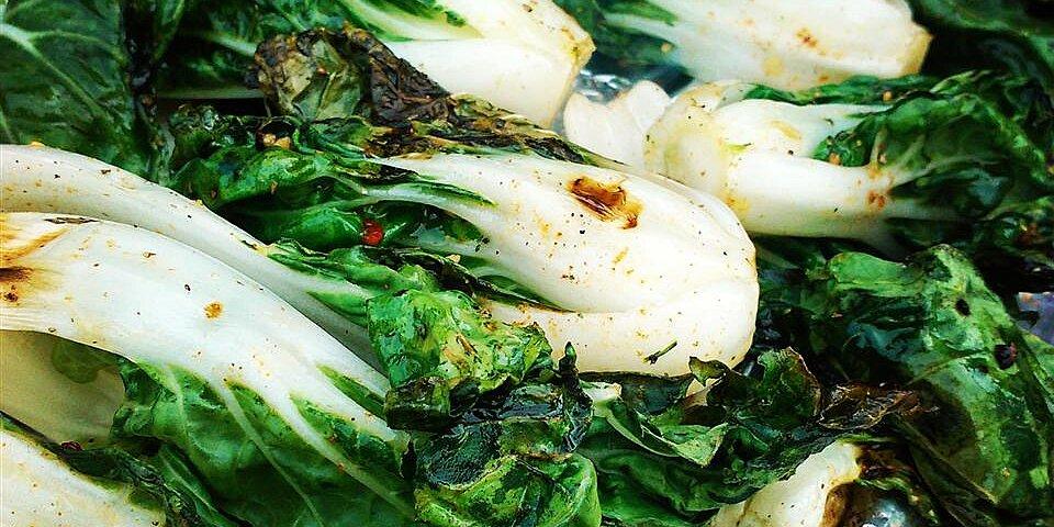 grilled bok choy recipe