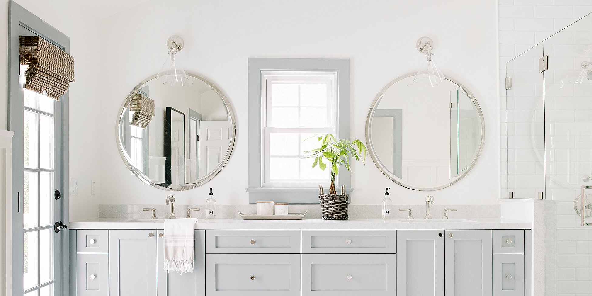 These Are The Most Popular Bathroom Paint Colors For 2020 Martha Stewart