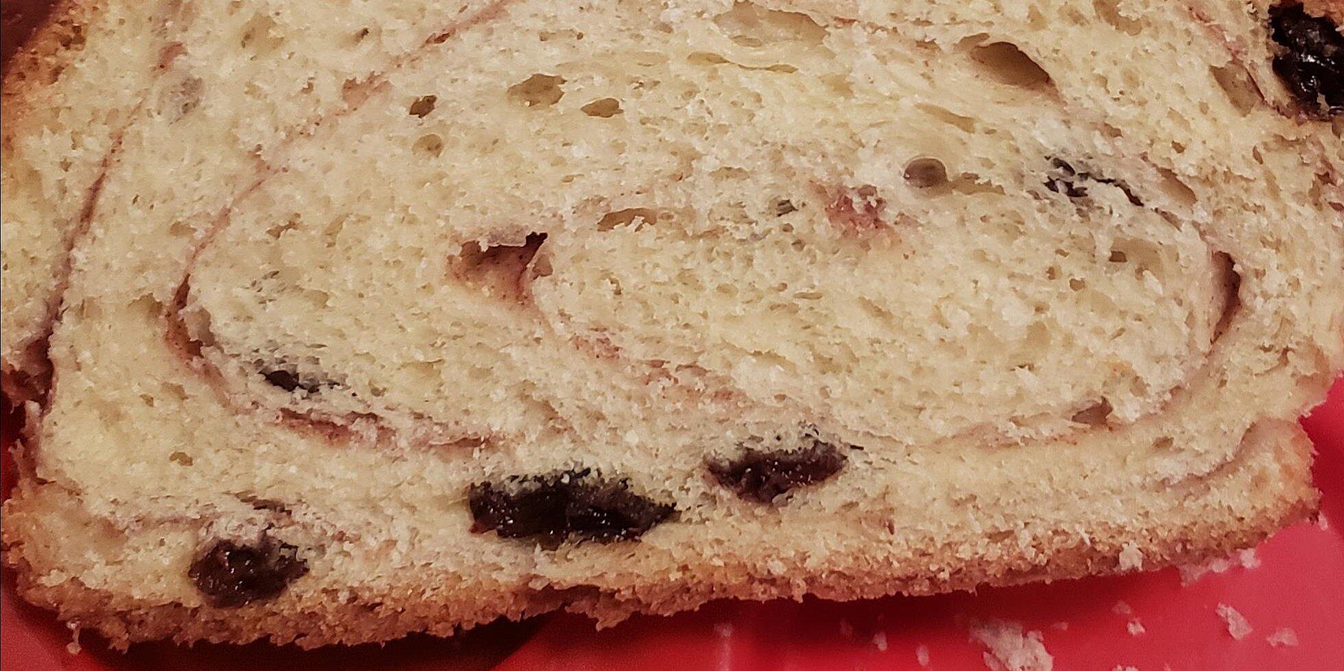 cinnamon raisin bread i recipe