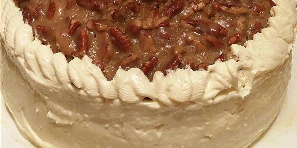 pralines coffee and cream cake recipe