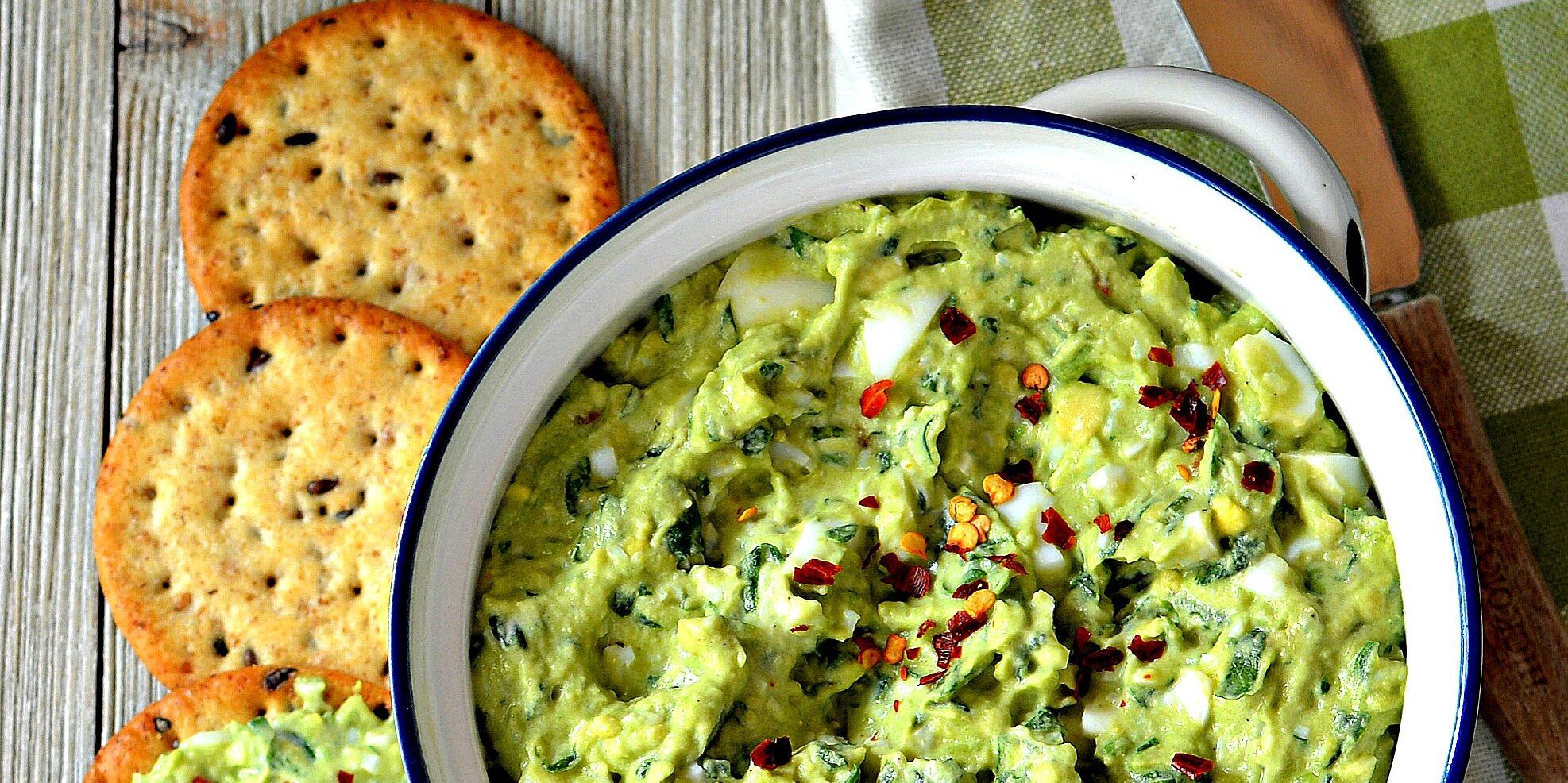 green egg salad recipe