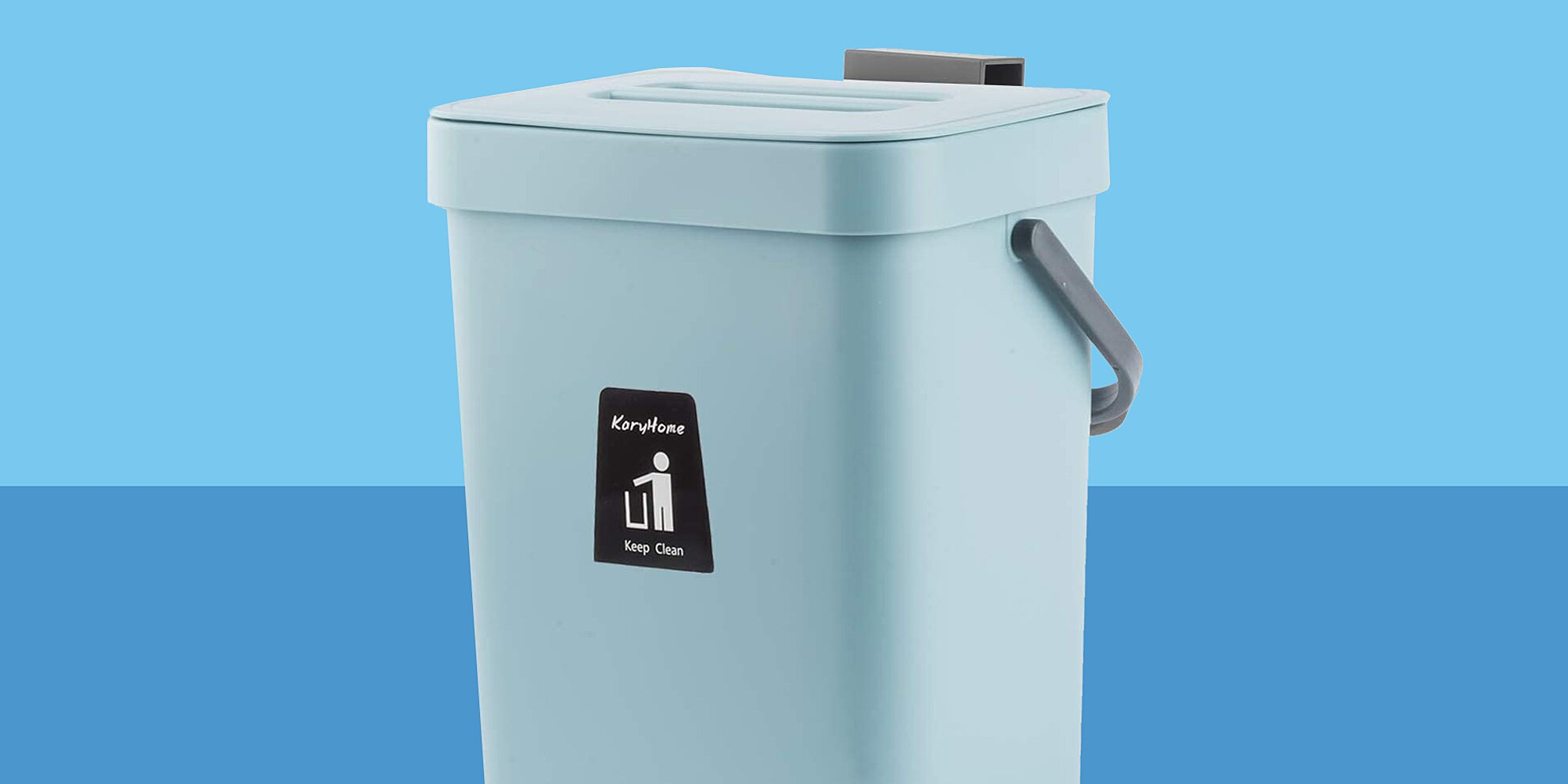 the space saving bucket that makes kitchen composting easier