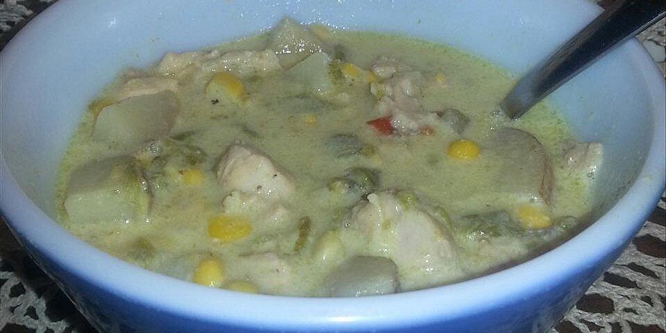 back to papa dars green chile and chicken corn chowder recipe