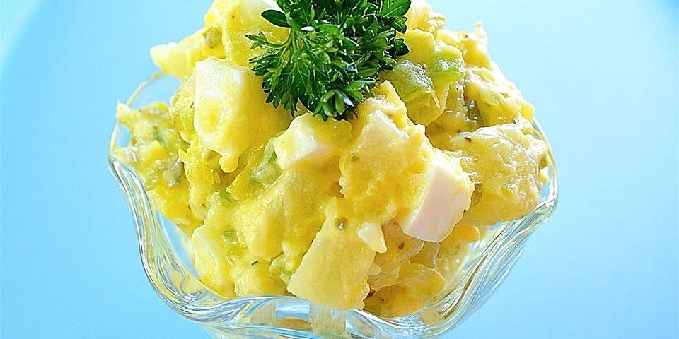 healthier old fashioned potato salad recipe
