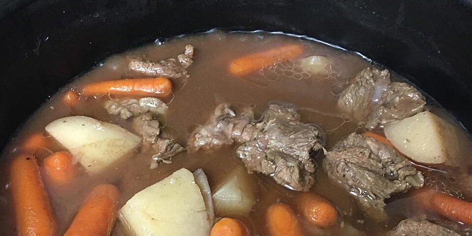 rustic slow cooker stew recipe