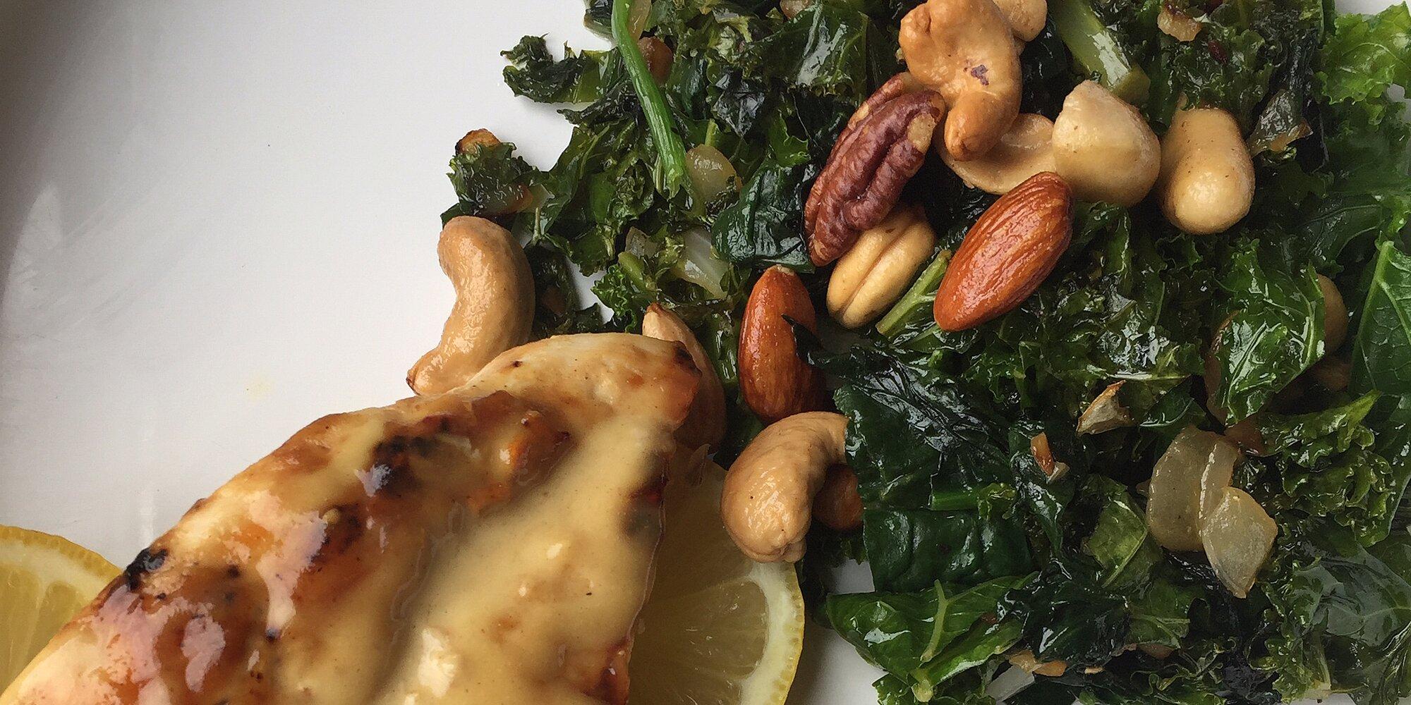 dawns kale side dish recipe