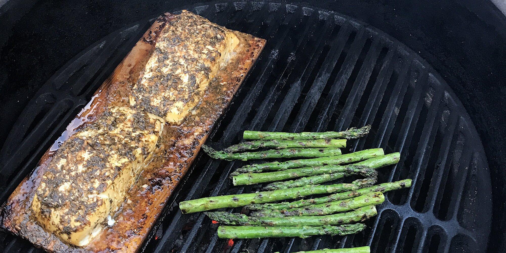 cedar planked halibut recipe
