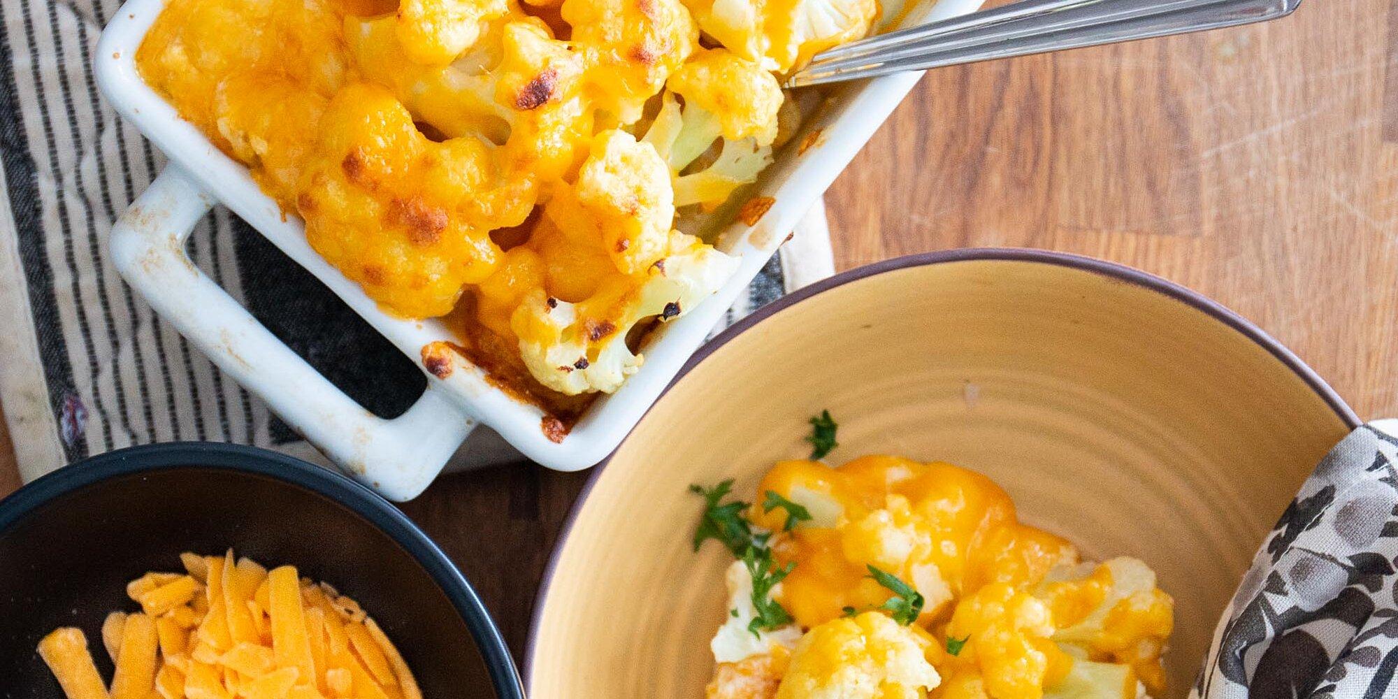 simple cauliflower keto casserole recipe