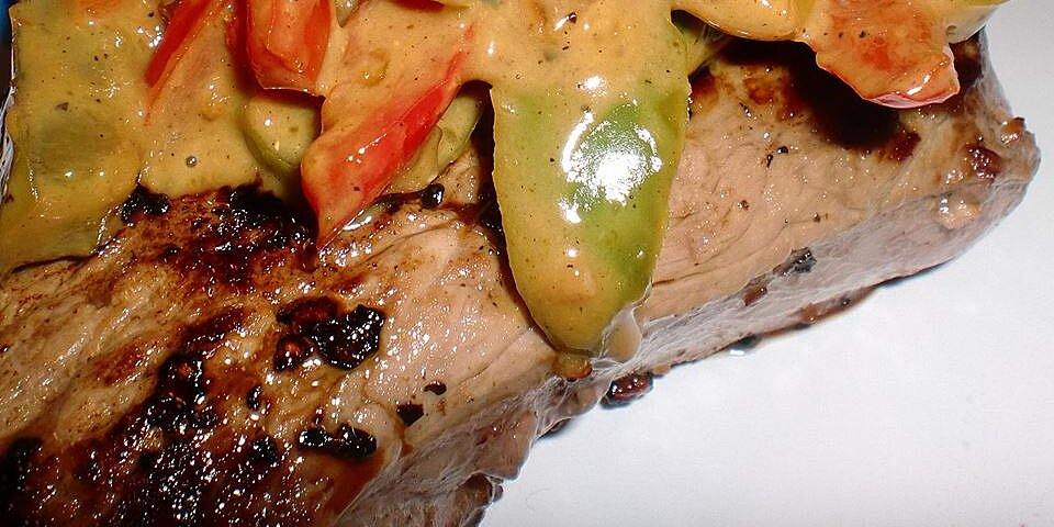 steak au poivre with a curry twist recipe