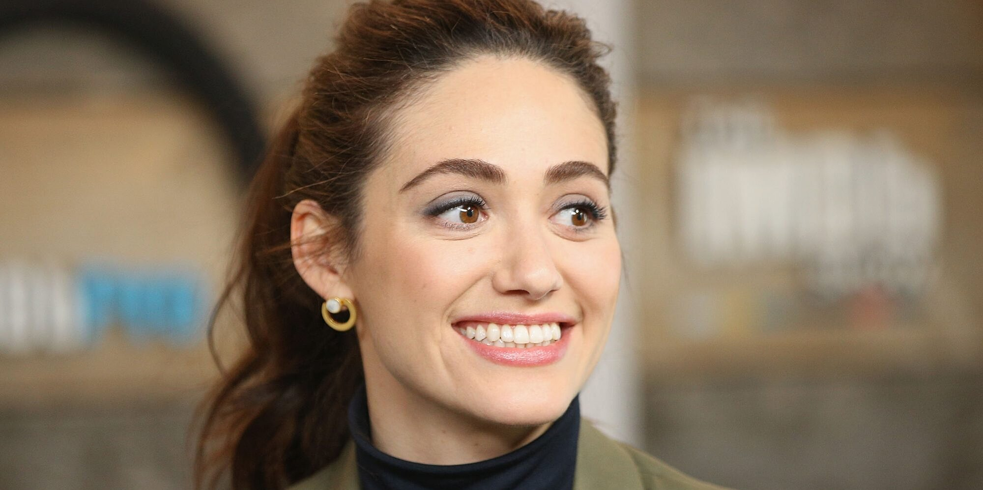 Emmy Rossum Just Shared the First Photo of Her Baby Daughter for a Powerful Reason