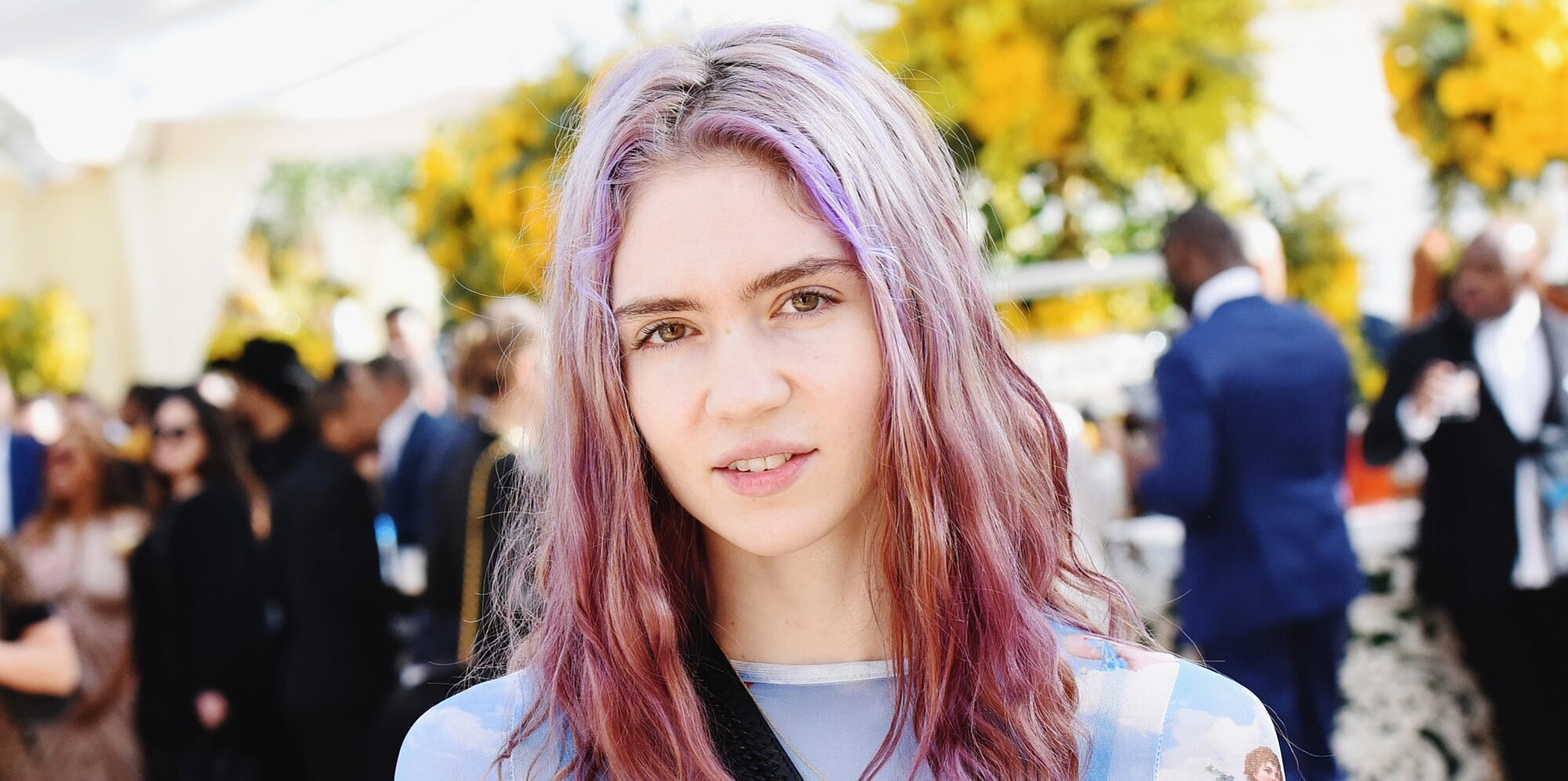 Grimes' Son Apparently Calls Her by Her First Name, and You Know What? That Tracks