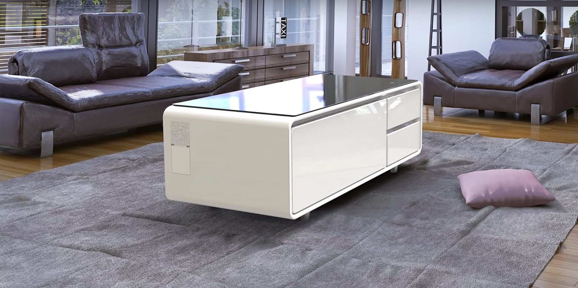 Is This Crowd Funded Coffee Table Fridge Hybrid Actually A Scam Myrecipes