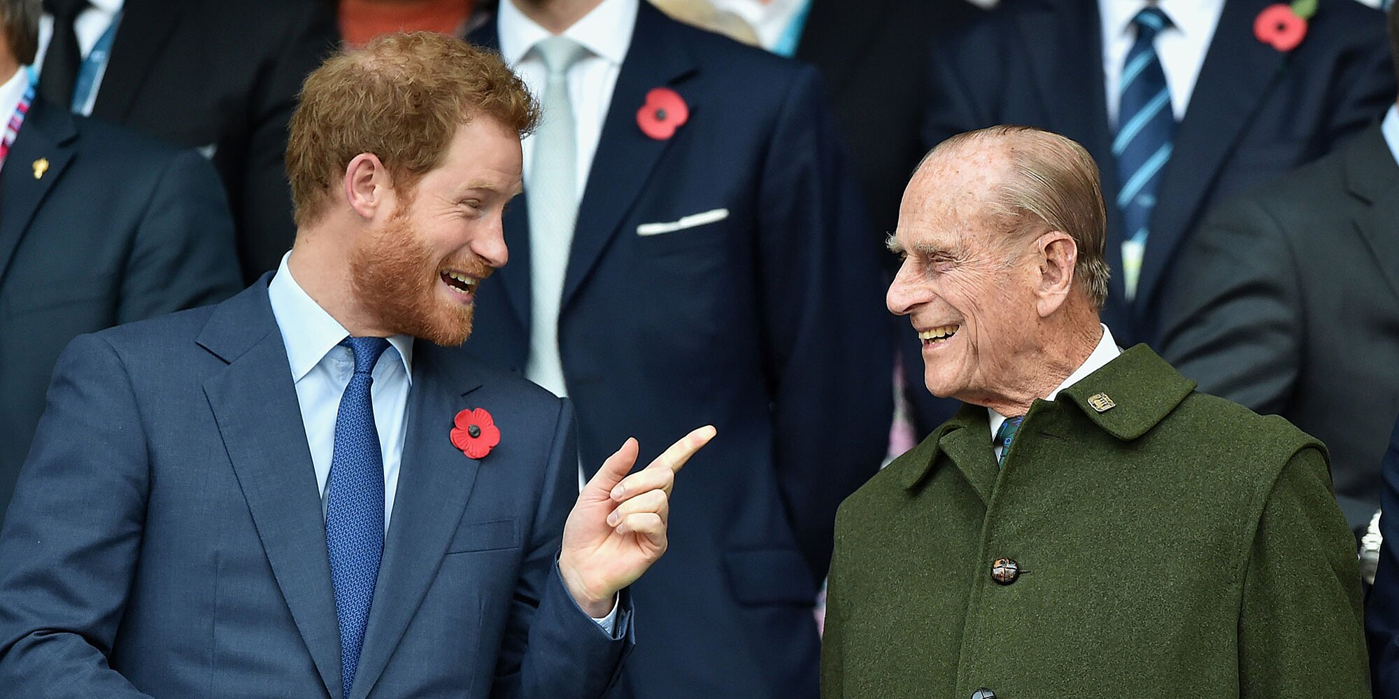Prince Harry, Is That You? See the Vintage Photo of Prince Philip Twinning with His Grandson Again.jpg