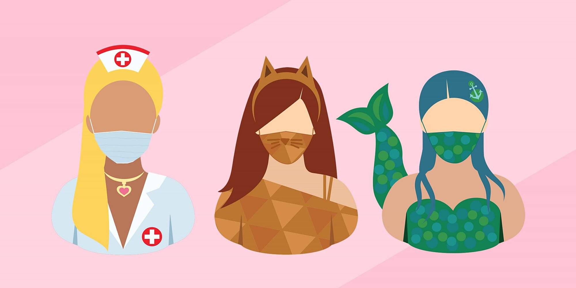 Halloween Costumes With Masks How To Make A Mask Work With Your Costume Real Simple