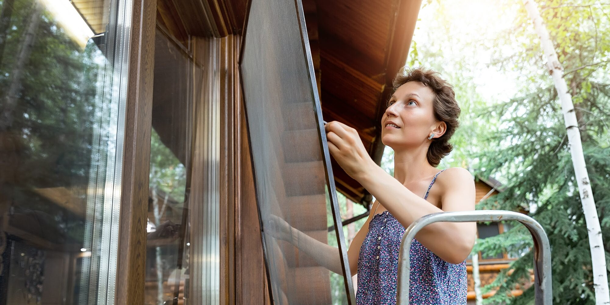 How to Patch a Hole in Your Door or Window Screen