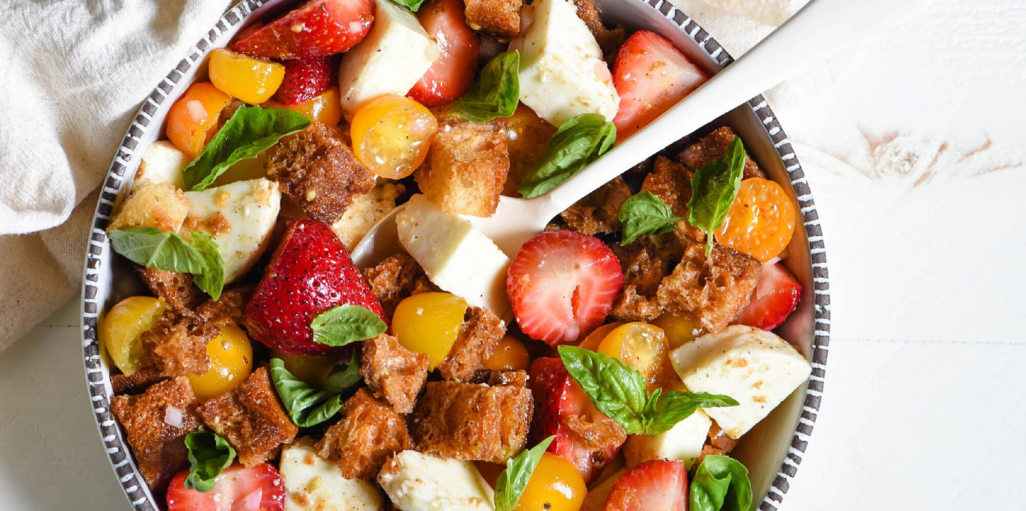 7 bright and beautiful bread salads