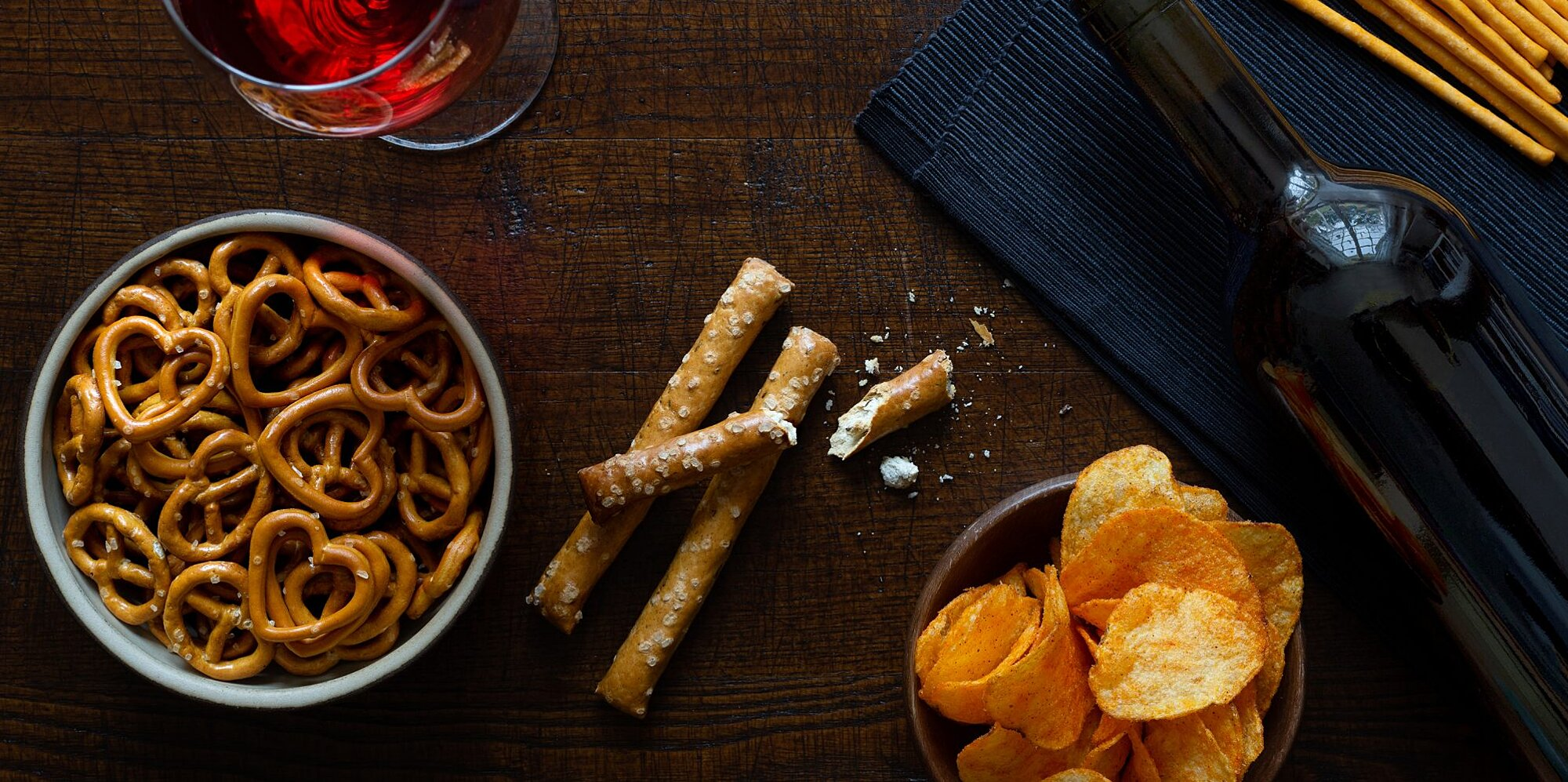 10 chip and wine pairings for a perfect night in