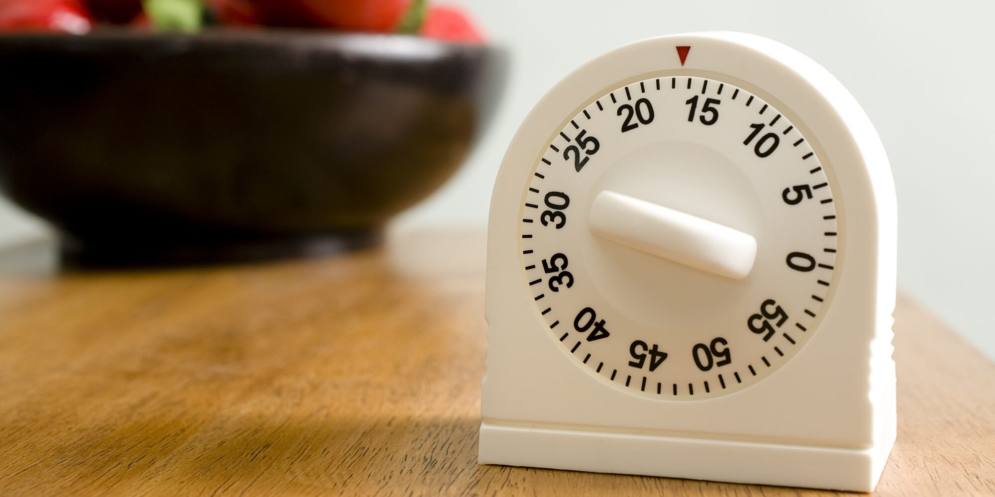 Setting a Timer is the Key to Better Household Cleaning