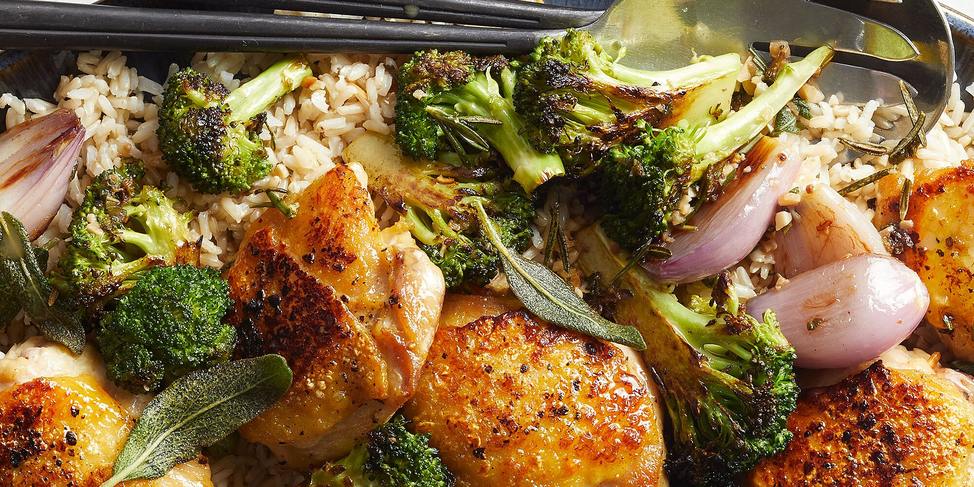 Chicken & Broccoli with Herb Butter Sauce