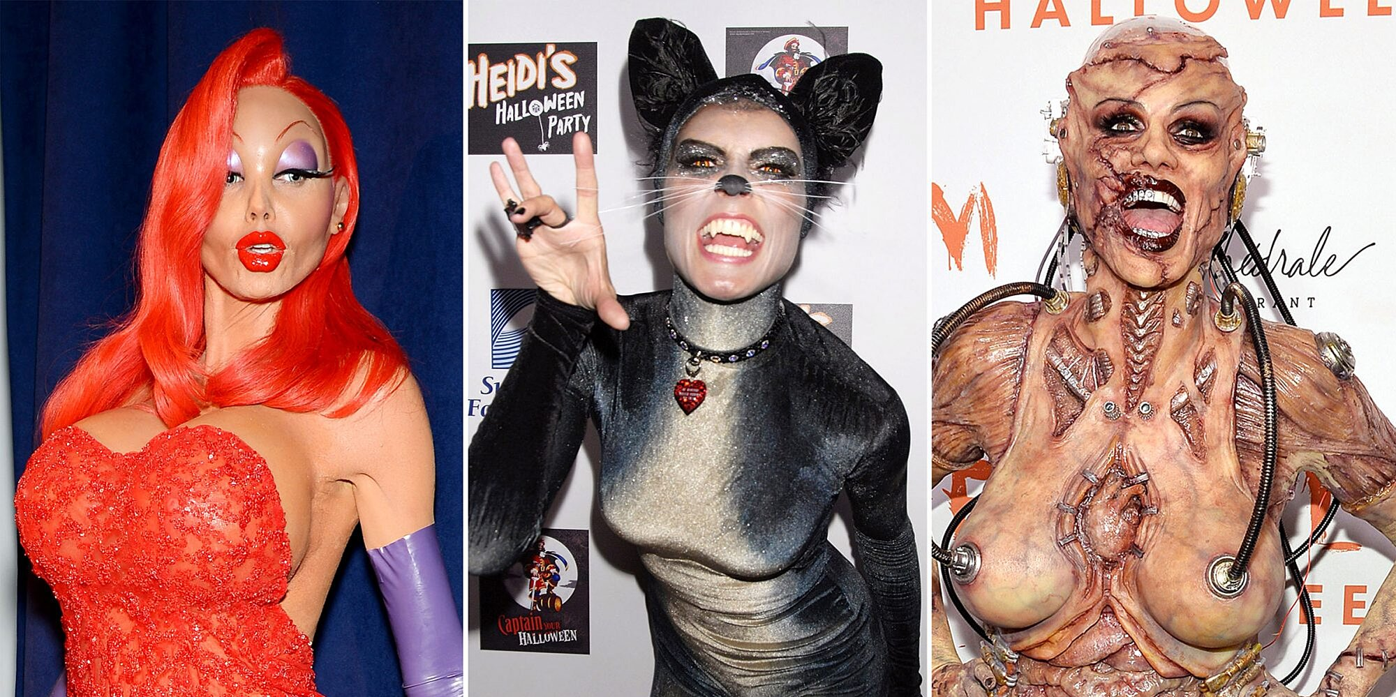 Heidi Klum Monkey Halloween Costume.Heidi Klum S Most Epic Halloween Costumes Ew Com