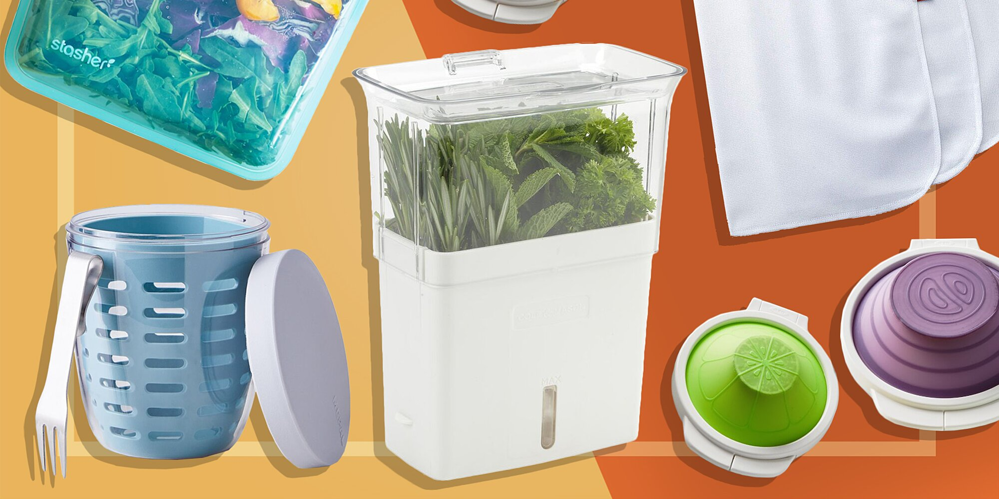 10 Smart Tools for Keeping Food Fresh for Longer
