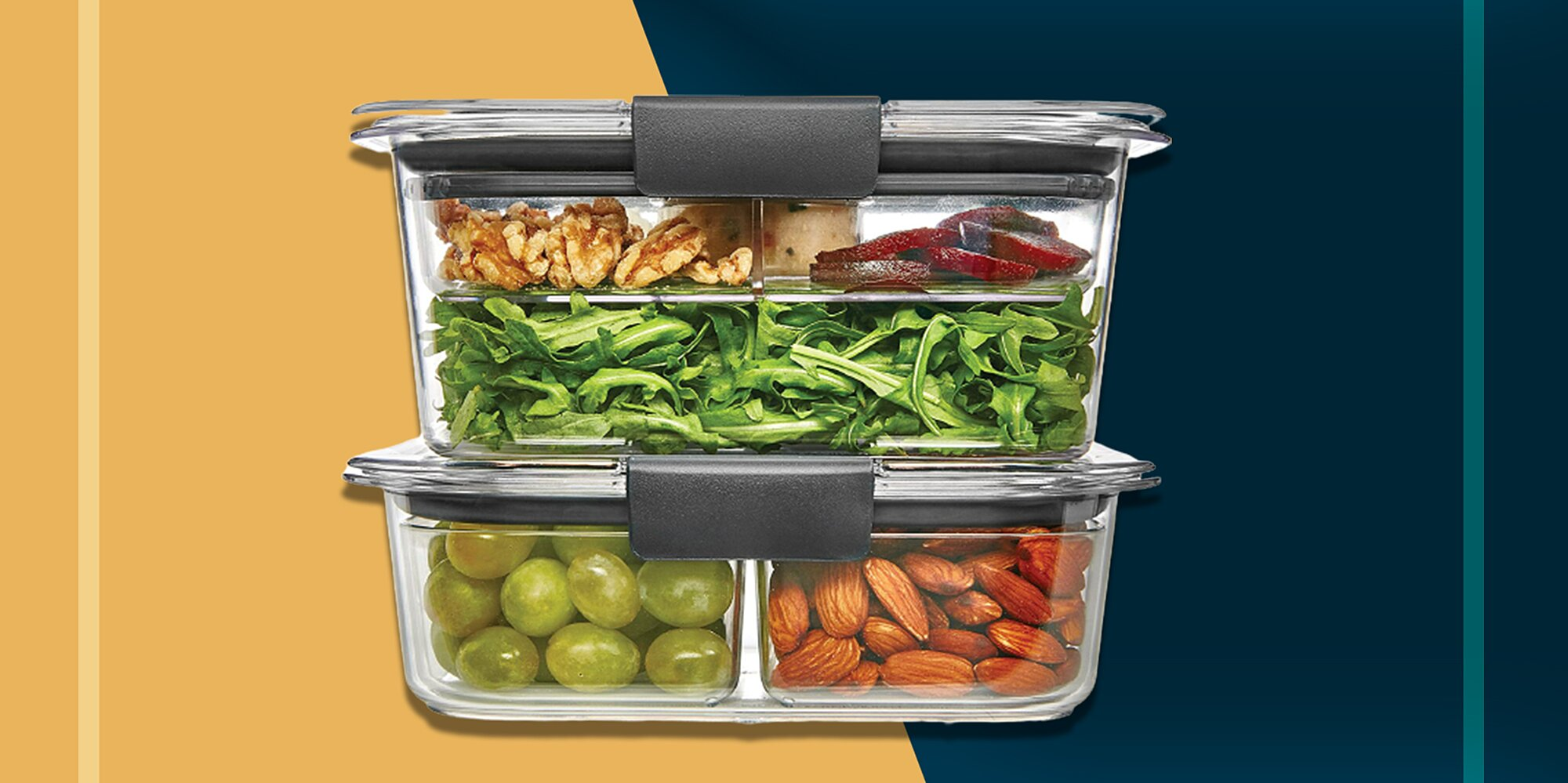 These Rubbermaid Storage Containers Keep Food Fresh All Week Long, and They're 30% Off at Amazon