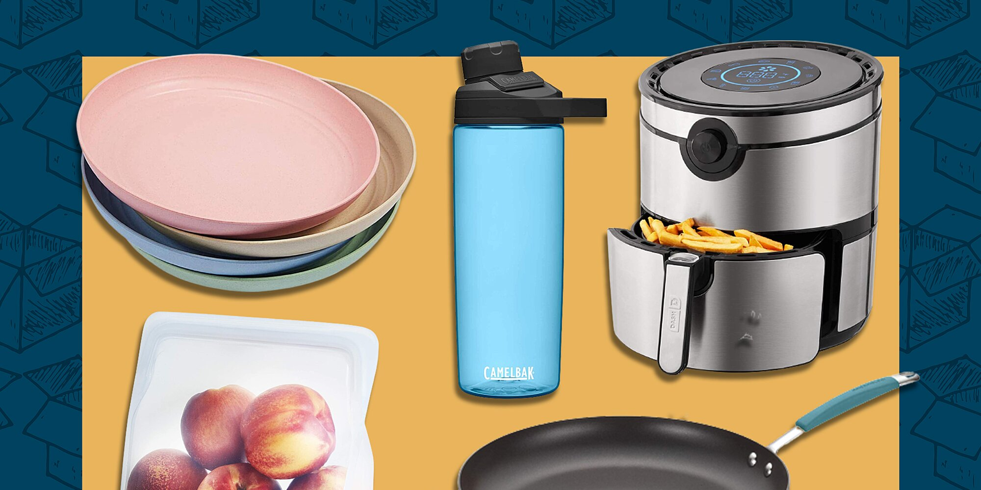 Amazon's Hidden Kitchen Outlet Is Filled with Deals on Calphalon, Stasher, and Cuisinart