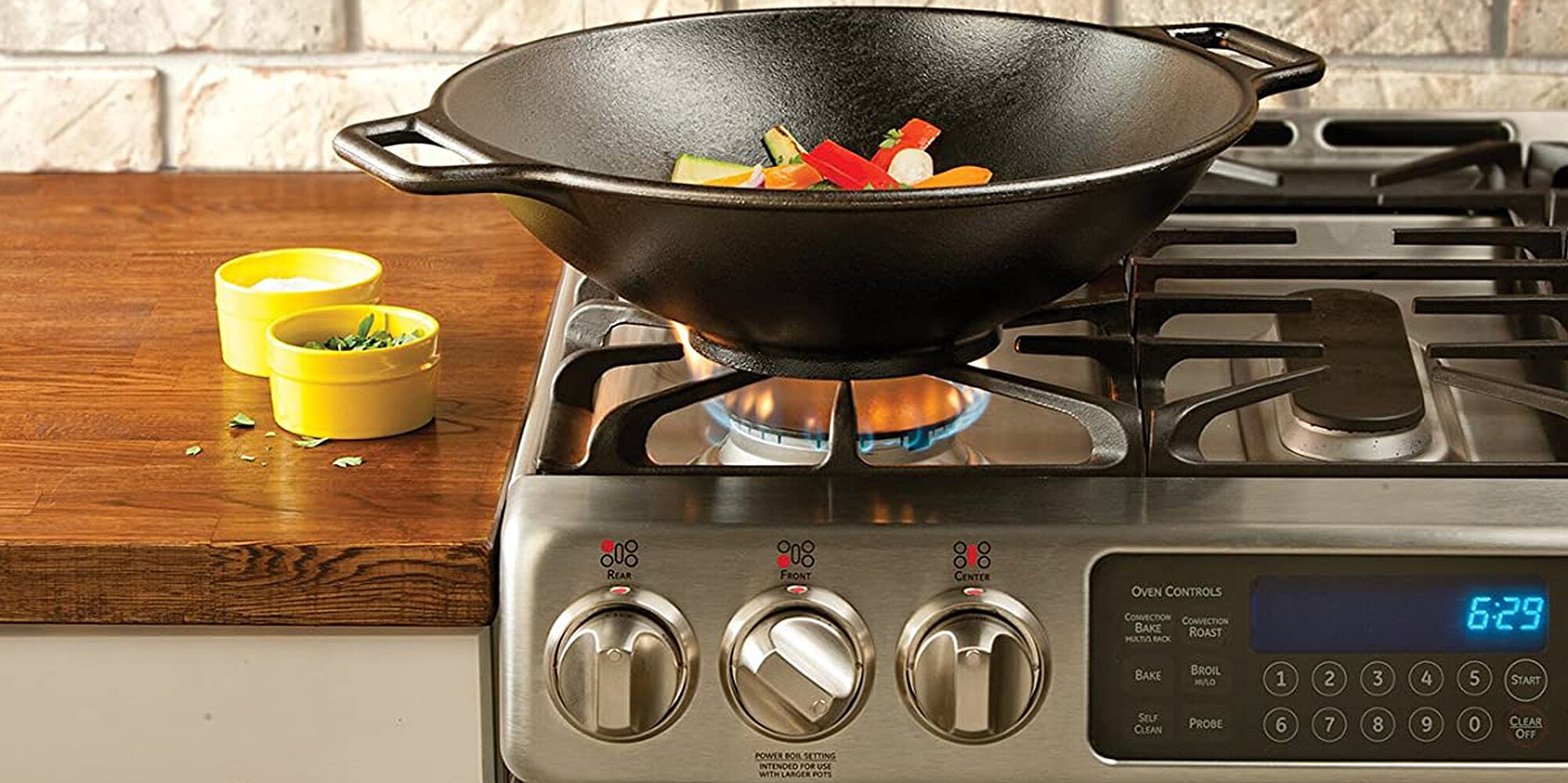 Amazon Shoppers Say This Cast-Iron Lodge Wok Is the 'World's Best'-and It's 41% Off