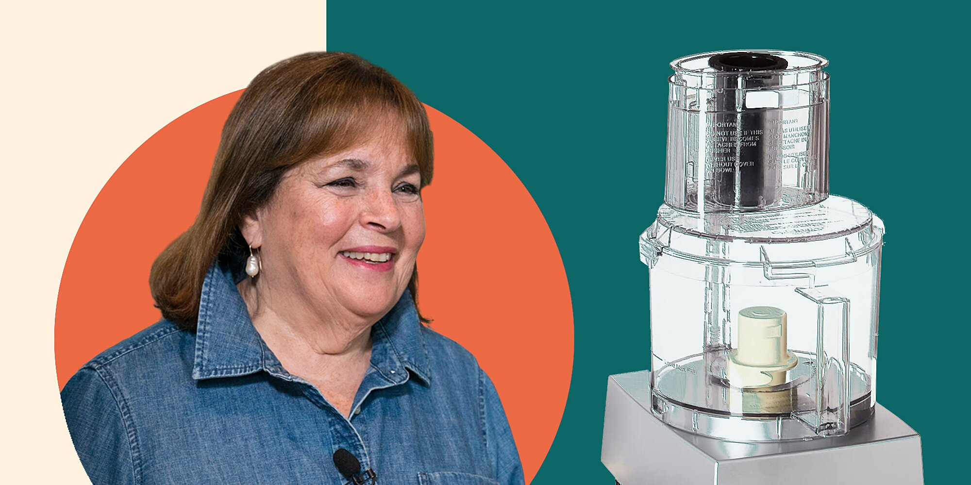 Ina Garten's Go-To Food Processor Is My Favorite Kitchen Appliance, and It's Available on Amazon