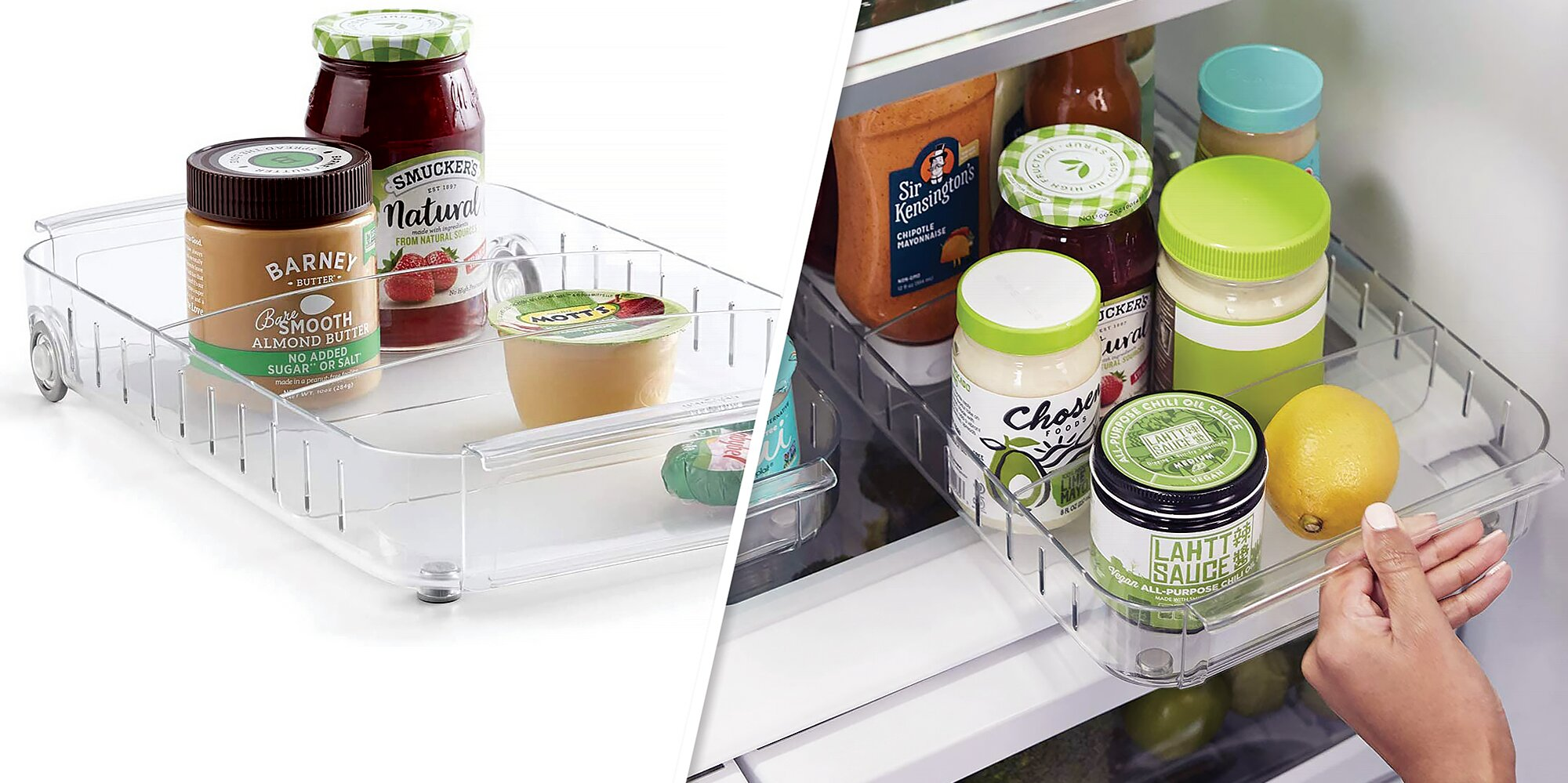 This Could Be the Smartest Way to Organize the Refrigerator That We've Seen Yet