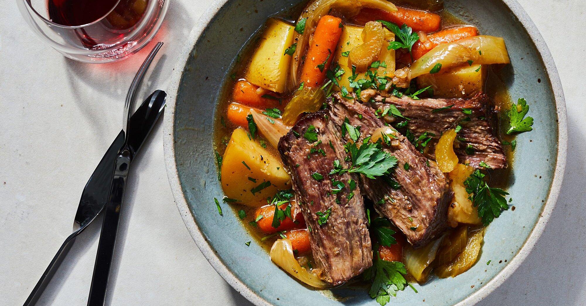 Crock Pot Easy Pot Roast Recipe Myrecipes