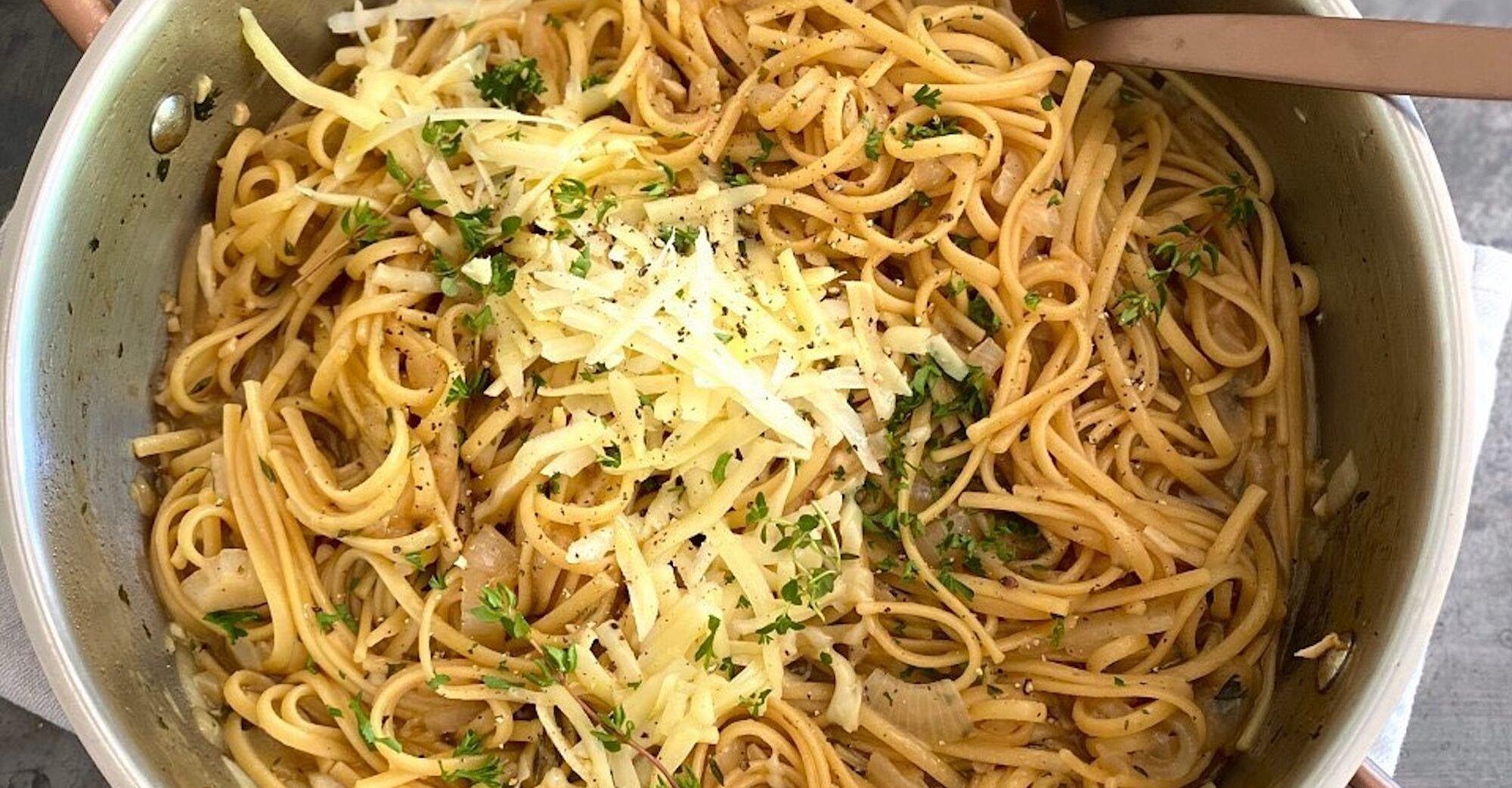 French Onion One-Pot Pasta Recipe