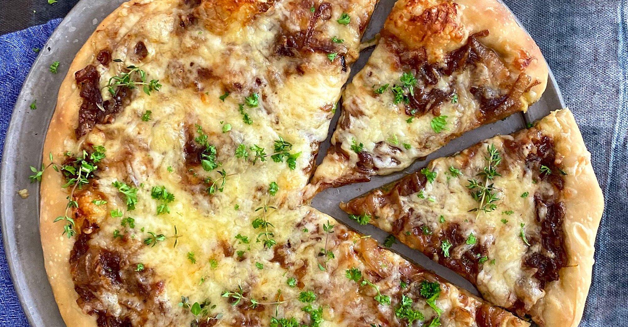 French Onion Pizza Recipe