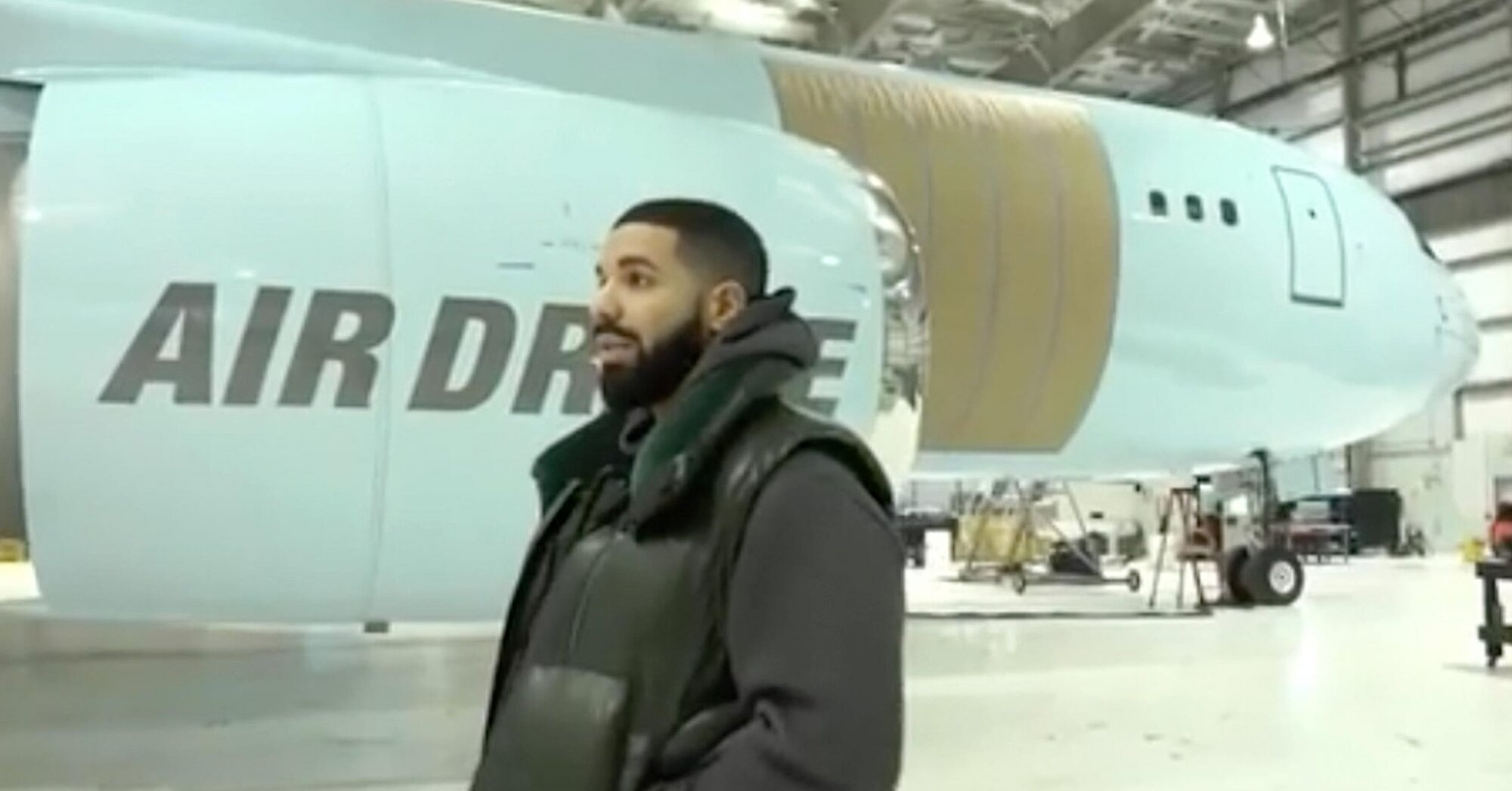 Drake Has Turned a Massive 767 Cargo Plane Into a $185 Million Flying Oasis Named 'Air Drake'