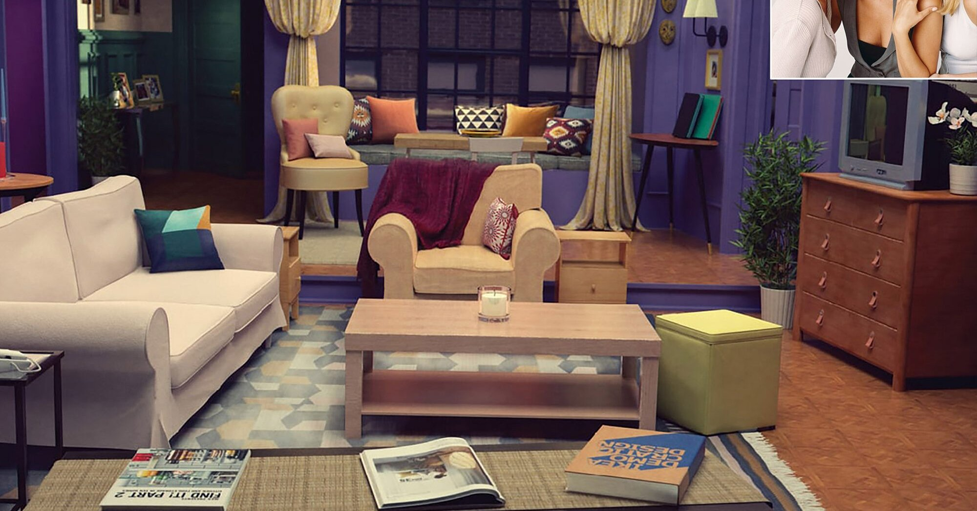 IKEA Recreates Living Rooms from Your Favorite TV Shows  PEOPLE.com